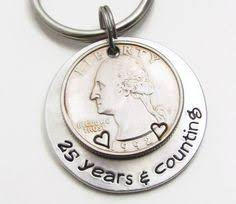 15 year anniversary gift ideas for 15 year anniversary gift handsted coins 15th anniversary