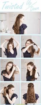 Hochsteckfrisuren Selber Machen Halblange Haare by Großartig Frisuren Zum Selber Machen Mit Anleitung Und Bild Lange