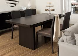 Modern Dining Room Table Decor Home Design Glamorous Modern Contemporary Tables Table Unique On
