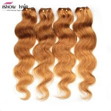honey weave 62 72g pcs 5a peruvian wave honey color 6pcs lot human