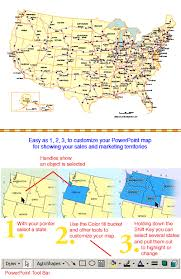map usa states with cities usa 50 editable state powerpoint map highway and major cities