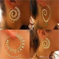 2018 8 types big swirl hoop earrings for 2017 bohemian