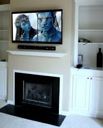 decorations wall mounted indoor fireplaces your daily flat screen tv over fireplace designs convenient evening and