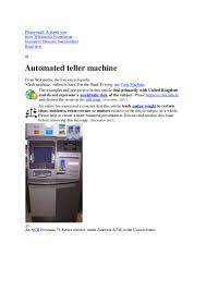100 manual guide for the tranax atm machines atm and kiosk