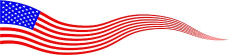 Big American Flags American Flag Clipart Wavy