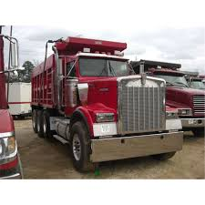 used kenworth trucks 1999 kenworth w900 tri axle dump truck