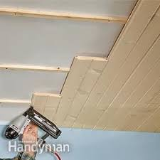 Ceiling Tile Installation How To Install A Tongue And Groove Ceiling Drywall Ceilings And