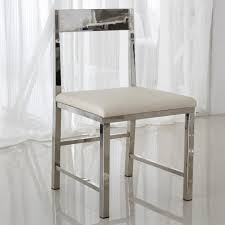 Modern Dining Chairs Leather Low Stainless Steel Restaurant Chairs Stylish Modern Minimalist