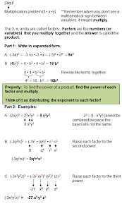 laws of exponents exponent rules scientific notation pinterest