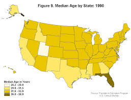 United States Map By Population by Population Working Paper No 45 An Analysis Of State And County