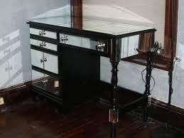 terrific mirrored ikea vanity desk with drawer storage also black