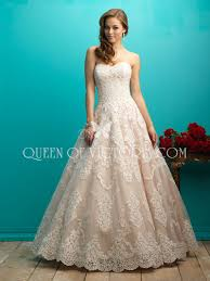 Strapless Wedding Dress Vintage Ball Gown Lace And Tulle Wedding Dress With Strapless