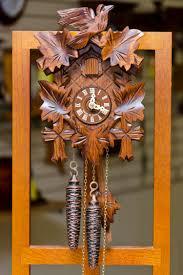 Cuckoo Clock Germany Cuckoo Clock Bird U0026 Leaf House Of Clocks
