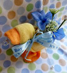 baby sock corsage photo baby shower corsage favors baby image