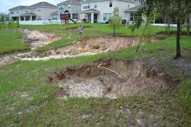 Sinkhole In Backyard L R E Ground Services Inc Foundation Repair Photo Album