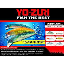 Umpan Mancing umpan mancing minnow floating yozuri tobimaru toko alat