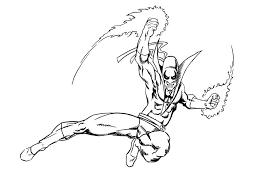 iron fist sketch by jamesdenton on deviantart