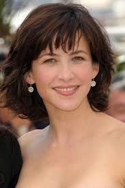 stylish medium length hairstyles medium hairstyles over 50 sophie marceau shoulder length