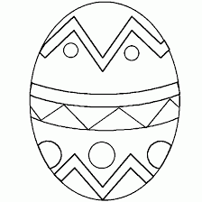 easter egg coloring pages u2013 art valla