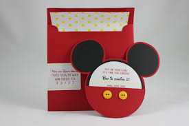 baby mickey invitations mickey mouse invitation