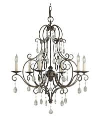 Crystal And Bronze Chandelier Oil Rubbed Bronze Crystal Chandelier U2013 Tendr Me