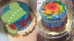 themed cakes hurricane irma themed cakes been popping up all florida