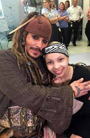 depp visits kids in hospital dressed as pirate jack sparrow ny