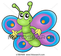 stock illustration of small butterfly k1687608 search