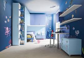 Blue And Gray Bedroom Blue And Brown Bedroom For Teenagers Gray Floating Wall Cool