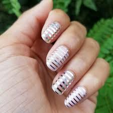 geometric nail art beautiful design with tutorial ladylife