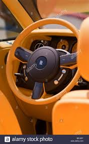 roll royce orange interior rolls royce stock photos u0026 interior rolls royce stock