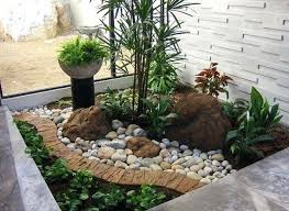 Front Yard Gardens Ideas Rock Garden Ideas For Front Yard Brilliant Small Front Yard