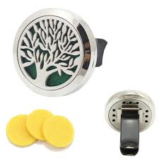 Amazon Oil Diffuser by Amazon Com Tree Of Life 316l Stainless Steel Car Air Freshener