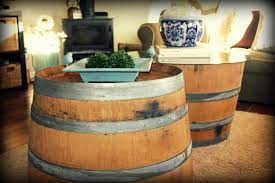 wine barrel side table wine barrel side table 25 wine barrel