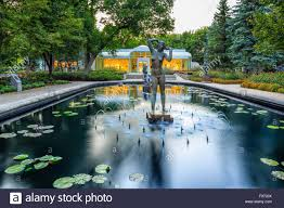 leo mol sculpture garden assiniboine park winnipeg manitoba