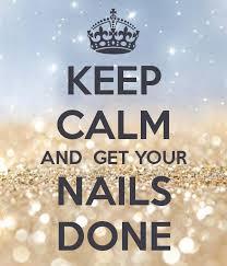 keep calm and get your nails done nail design nail art nail