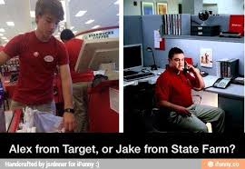 Jake From State Farm Meme - coolest jake state farm meme jake from state farm vs alex from tar