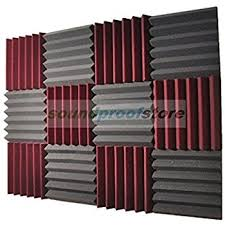 amazon com soundproof store 4492 acoustic wedge soundproofing
