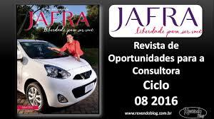 revista motor 2016 jafra revista de oportunidades ciclo 08 2016 youtube