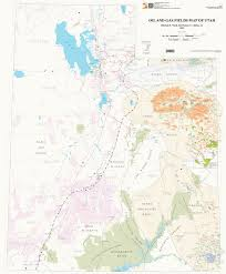 Topographic Map Of Utah by Energy U0026 Mineral Maps U2013 Utah Geological Survey
