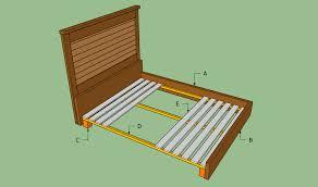 diy king size platform bed frame plan quick woodworking idea