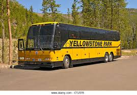 Wyoming travel buses images Yellowstone park tour bus stock photos yellowstone park tour bus jpg