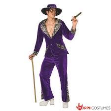 Pimp Halloween Costumes Pimp Daddy Velvet Suit Purple