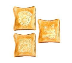toast emoji toast stamp bread tattoo breakfast food emoji decorations