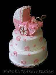 baby carriage cake pink baby carriage cake kupkake tree flickr