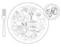 list healthy food coloring page for kids kids coloring pages