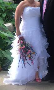 david u0027s bridal 9t3505 299 size 20w used wedding dresses