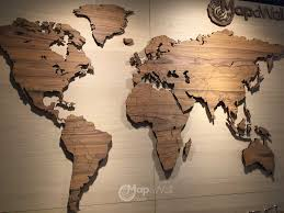 World Map Wall Decor Carved Wooden World Map Wood Wall Art Home Decor In Besttabletfor Me
