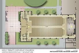 Catholic Church Floor Plans Design Holy Trinity Catholic Church Renovation Project