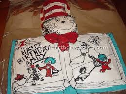 dr seuss cake ideas coolest dr seuss birthday cakes on the web s largest